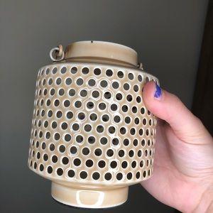 Anthropologie Mini Lantern Cream